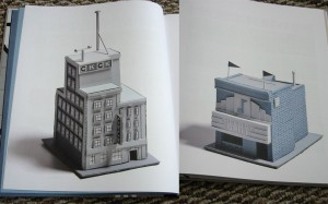 Examples of model building pages from George Sprott