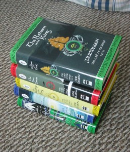 The Silmarillion, The Hobbit and The Lord of the Rings