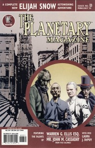 Cover of Planetary #13