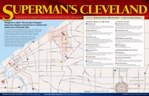 """Superman's Cleveland"" map"
