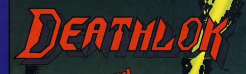 1990s Deathlok series logo