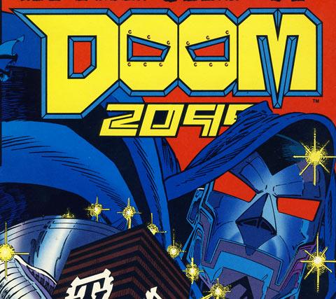 Original Doom 2099 logo