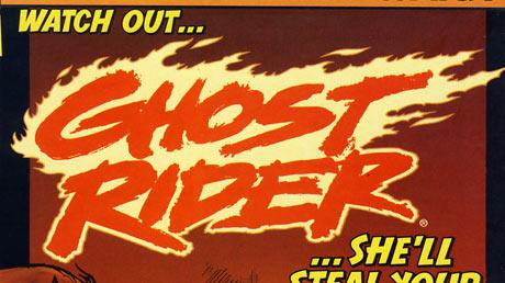 1990s Ghost Rider logo