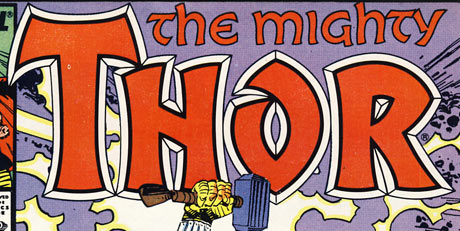 'The Mighty Thor' logo c.1987