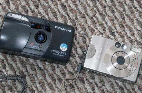 Old camera, and older camera