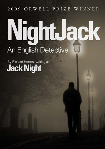 Proposed cover for NightJack book