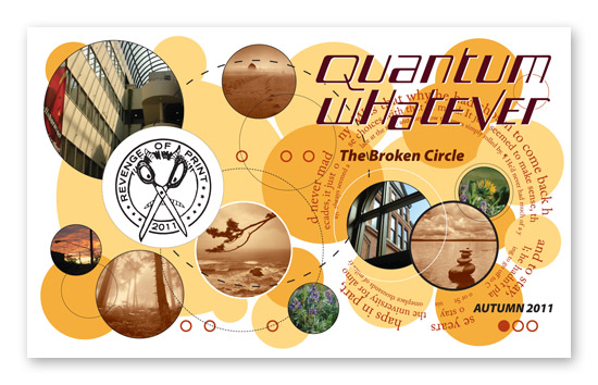 Outside cover for Quantum Whatever, vol. III issue 1