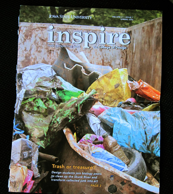 Front cover of ISU inspire, vol. 2 issue 1