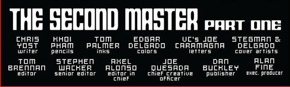 Credits for Scarlet Spider #7