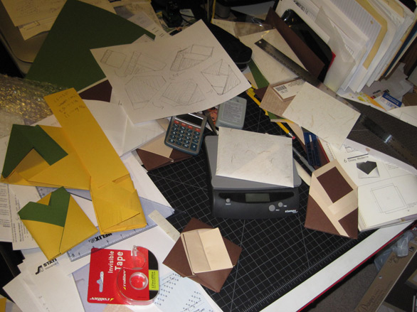 My desk looks like this right now