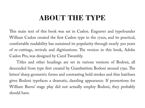 About the Type page (links to PDF)