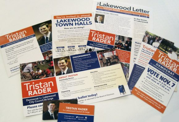 Rader for Council literature
